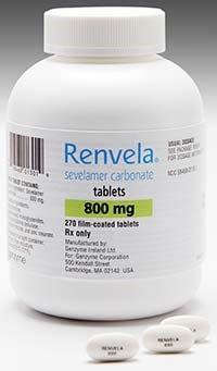 Genzyme launches Renvela