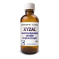 XYZAL (levocetirizine) 0.5mg/mL oral solution by UCB and Sanofi Aventis