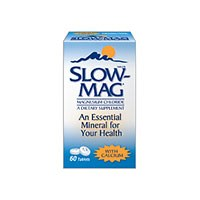 SLOW-MAG (Magnesium chloride) 64mg tablets by Purdue