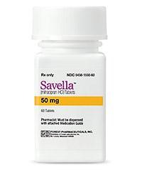 SAVELLA (Milnacipran) 12.5mg, 25mg, 50mg, 100mg tablets by Forest and Cypress