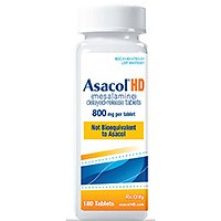 ASACOL HD (Mesalamine) 800mg delayed-release tablets from Procter & Gamble