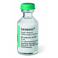 LEVEMIR (insulin detemir [rDNA origin]) 100 Units/mL by Novo Nordisk
