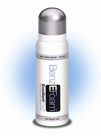 BENZEFOAM (benzoyl peroxide) 5.3% emollient foam by Onset Therapeutics
