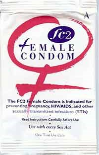 FC2 FEMALE CONDOM by Female Health Company