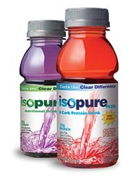 ISOPURE PLUS protein drinks by The Isopure Company