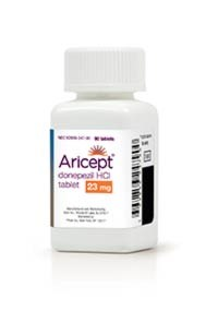 ARICEPT (donepezil HCl) 23mg tablets by Eisai