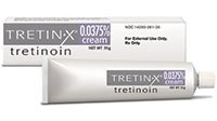 TRETIN-X (tretinoin) 0.0375% cream by Triax