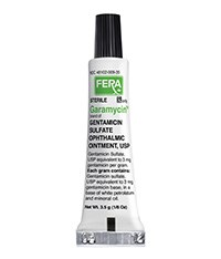 GARAMYCIN (gentamicin sulfate) ophthalmic ointment by Fera