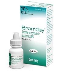 BROMDAY (bromfenac) 0.09% ophthalmic solution by ISTA