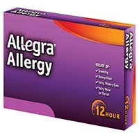 ALLEGRA (fexofenadine) 30mg, 60mg, 180mg tablets by sanofi-aventis