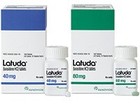 LATUDA (lurasidone HCl) 40mg and 80mg tablets by Sunovion