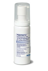 FORTESTA (testosterone) gel 10mg/actuation by Endo