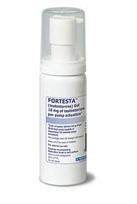 FORTESTA (testosterone) gel 10mg/actuation by Endo
