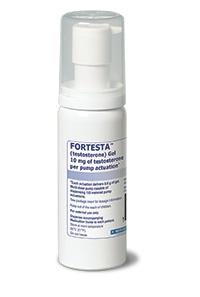 FORTESTA (testosterone) gel 10mg\/actuation by Endo