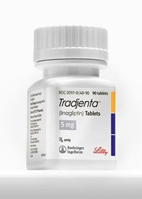 TRADJENTA (linagliptin) 5mg tablets by Boehringer Ingelheim and Eli Lilly