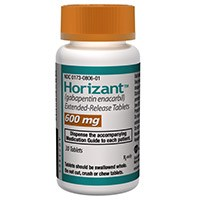 HORIZANT (gabapentin enacarbil) 600mg extended-release tablets by GlaxoSmithKline and XenoPort