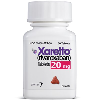 XARELTO (rivaroxaban) 20mg tablets