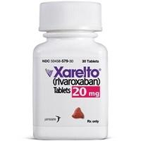 XARELTO (rivaroxaban) 20mg tablets