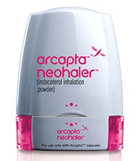 ARCAPTA NEOHALER (indacaterol) 75mcg inhalation powder by Novartis