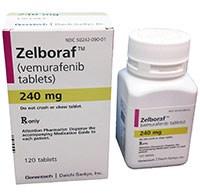 Zelboraf (vemurafenib) 240mg tablets by Genentech