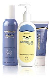 NEOSALUS (cream, lotion, and foam) by Quinnova
