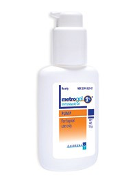 METROGEL (metronidazole) 1% gel pump by Galderma