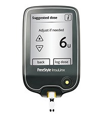 FREESTYLE INSULINX blood glucose monitoring system by Abbott