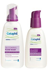 CETAPHIL DERMACONTROL Foam Wash and Moisturizer by Galderma