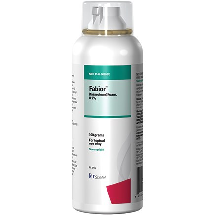 Fabior Foam, 0.1% Approved for Acne Vulgaris