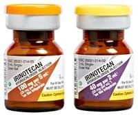 Irinotecan HCl 100mg/5mL and 40mg/2mL Injection by Sagent