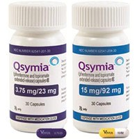 QSYMIA (phentermine and topiramate extended-release) 3.75/23mg and 15mg/92mg capsules by Vivus