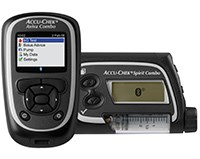 ACCU-CHEK COMBO SYSTEM (glucose meter and insulin pump) by Roche