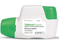 TUDORZA PRESSAIR (aclidinium bromide) 400mcg inhalation powder by Forest Laboratories