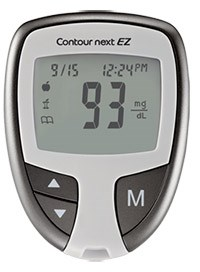 Contour Next EZ Blood Glucose Monitor by Bayer