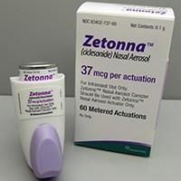 ZETONNA (ciclesonide) 37mcg nasal aerosol by Sunovion