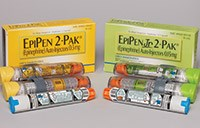 EPIPEN (epinepherine) 0.3mg and EPIPEN JR (epinepherine) 0.15mg injections by Mylan Specialty L.P.
