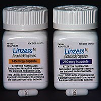 LINZESS (linaclotide) 145mcg and 290mcg capsules by Ironwood and Forest