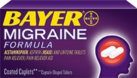 BAYER MIGRAINE FORMULA (acetaminophen/aspirin/caffeine) 250/250/65mg coated caplets by Bayer