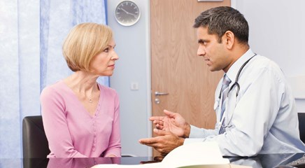 Postmenopausal Palpable Ovary Discovered