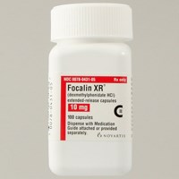 FOCALIN XR (dexmethylphenidate HCl [single-isomer methylphenidate]) 10mg extended-release capsules