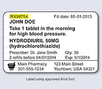 New USP Medication Labeling Standards 