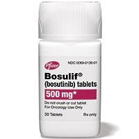 BOSULIF (bosutinib) 500mg tablets by Pfizer