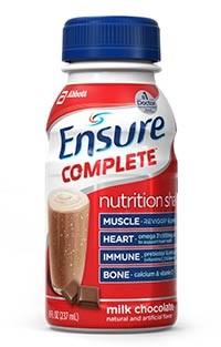 ENSURE COMPLETE milk chocolate 8oz bottle by Abbott
