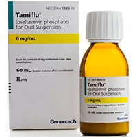 TAMIFLU (oseltamivir phosphate) 6mg oral suspension by Genentech