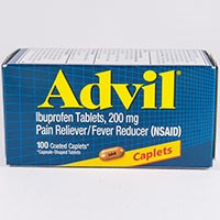 ADVIL (ibuprofen) 200mg gel caplets, caplets, tablets, liqui-gels by Pfizer Consumer Healthcare