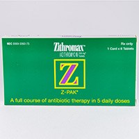 ZITHROMAX (azithromycin [as dihydrate]) 250mg, 500mg, 600mg tablets by Pfizer