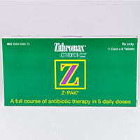Azithromycin dose for otitis