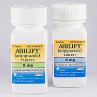 ABILIFY (aripiprazole) 2mg, 5mg, 10mg, 15mg, 20mg, 30mg tablets by BMS/Otsuka Partnership