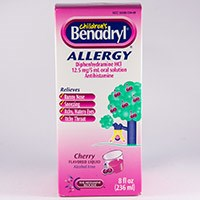 BENADRYL ALLERGY LIQUID (diphenhydramine HCl) 12.5mg/5mL oral soln by McNeil Consumer & Specialty