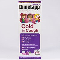 CHILDREN'S DIMETAPP COLD & COUGH (brompheniramine/dextromethorphan/phenylephrine) by Wyeth